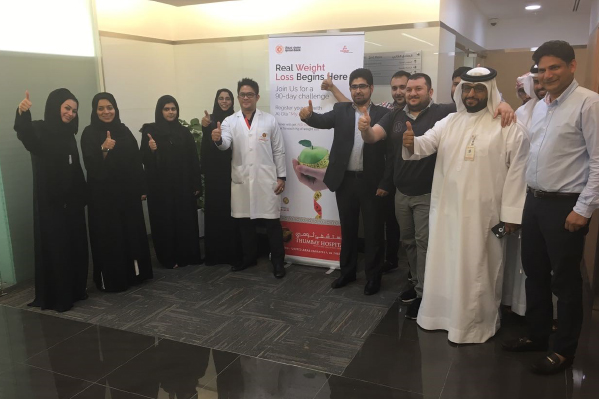 Thumbay Hospital Ajman Conducts Nutrition Health Camp and Health Lecture for Ajman Bank Employees