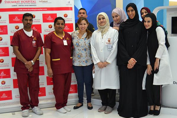 Thumbay Hospital Ajman Organizes Health Checkup Camp to Mark World Heart Day