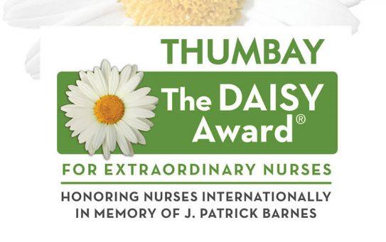 THUMBAY DAISY FIRST AWARDEE – Ms. ANU GEORGE, RN, NICU