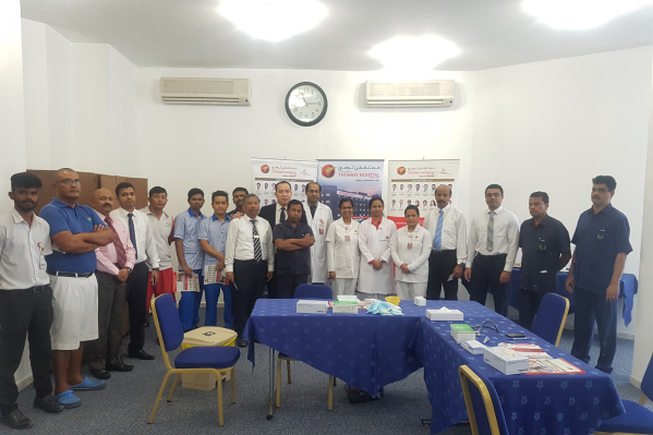 Thumbay Hospital Day Care, Sharjah (Rolla) conducts corporate Health Awareness Session at Beach Hotel Sharjah
