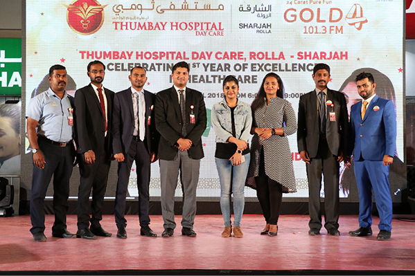 Thumbay Hospital Day Care Celebrates First Anniversary with Roadshow, Fun Activities, Gifts and Free/Discounted Treatments