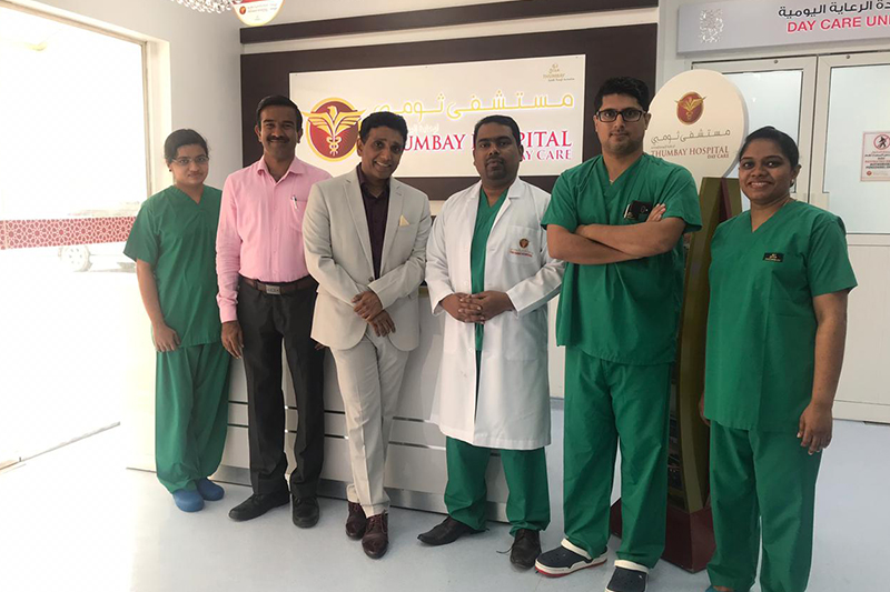 Gallstones Patient Undergoes Single site scar less Laparoscopic Surgery with Same-day Discharge at Thumbay Hospital Day Care Rolla, Sharjah