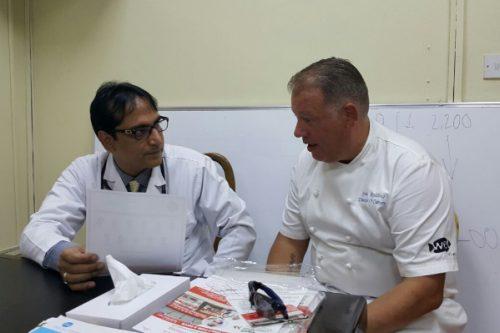 Thumbay Hospital Day Care Conducts Free Health Checkup Camp at Sharjah Wanderers
