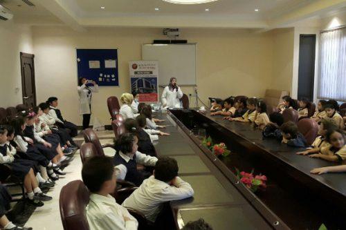 Thumbay Hospital Day Care Conducts Health Checkup Camp at Al Dawha School Sharjah