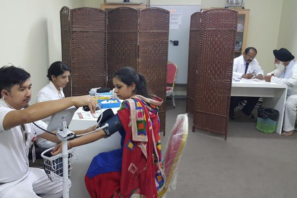 Thumbay Hospital Day Care – University City Road, Sharjah conducted a health awareness program at Gurudwara Dubai