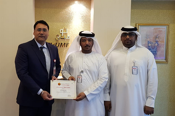 Thumbay Hospital Day Care Muweilah Organizes Iftar Party for Sharjah Taxi Employees