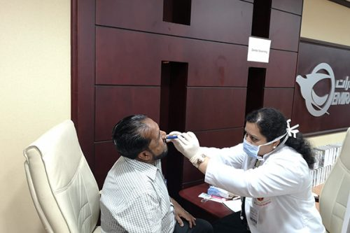 Thumbay Hospital Day Care, University City Road Muweilah-Sharjah Conducts Free Health Camp at Central Post Office Sharjah