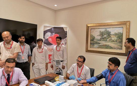 Thumbay Hospital Day Care, Muweilah-Sharjah Conducts Free Health Camp at IFFCO Group Sharjah