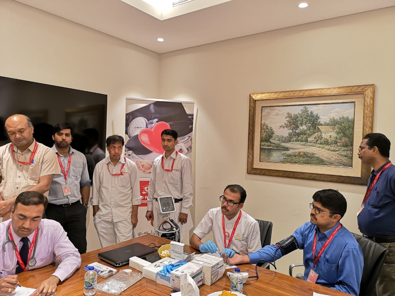 Thumbay Hospital Day Care, Muweilah-Sharjah Conducts Free Health Camp at IFFCO Group Sharjah