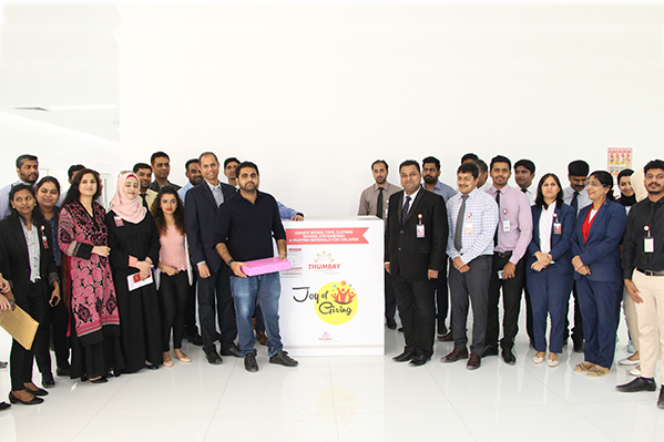 Thumbay Group's CSR Committee Launches 'Joy of Giving' Initiative under Thumbay Foundation to Bring Happiness to Needy Children and Orphans