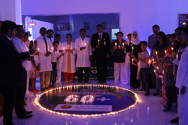 Thumbay Hospitals and Clinics Observe 'Earth Hour' in Solidarity with Global Efforts to Highlight Climate Change