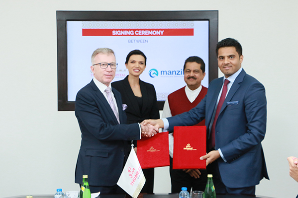 Manzil Healthcare Services signs an agreement with Thumbay Hospital Group for extending Home Health Services to patients in the Northern Emirates