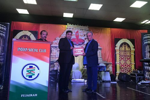 Thumbay Hospital Fujairah Joins Indian Social Club's Diwali Celebrations to Promote Health Awareness